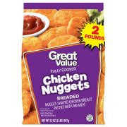 Great Value Chicken Nuggets, 70 oz