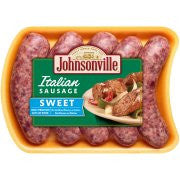 Johnsonville Sweet Italian Sausage Links 19oz tray