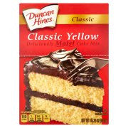 Duncan Hines® Classic Yellow Cake Mix 15.25 oz. Box