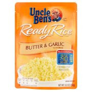 Uncle Ben's Ready Rice Butter & Garlic Flavored 8.8 oz