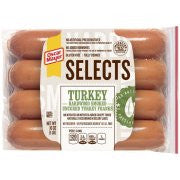 Oscar Mayer Selects Turkey Franks, 8 count, 16 oz