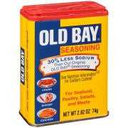 Old Bay® Seasoning, 30% Less Sodium, 2.62 oz. Can