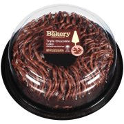 The Bakery at Walmart Triple Chocolate Cake, 32 oz