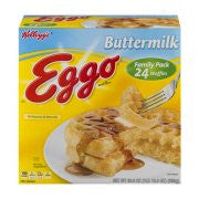 Kellogg's® Eggo® Buttermilk Waffles 24 ct Box, 29.6 OZ