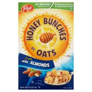 Post® Honey Bunches of Oats® with 25 Percent More Almonds Cereal 18 oz. Box