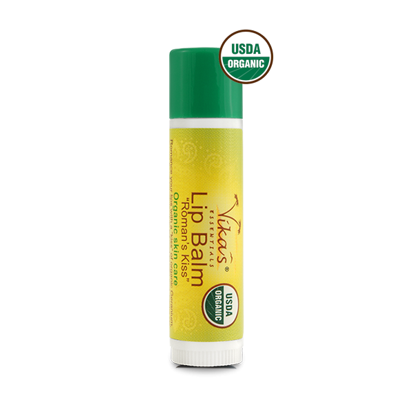 """Roman's Kiss"" Lip Balm - USDA Certified Organic. December Special - 15% OFF!"