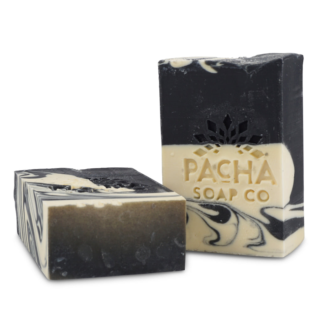Pacha's Clarifying Charcoal Bar Soap
