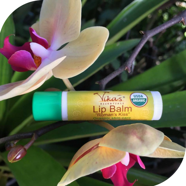 """Roman's Kiss"" Lip Balm.  USDA Certified Organic. November Special - 15% OFF!"