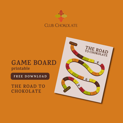free dark chocolate guide BOARD GAME