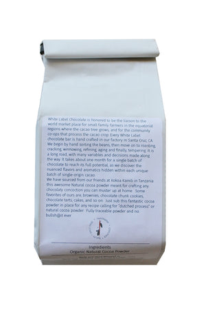 white label cocoa powder tanzania