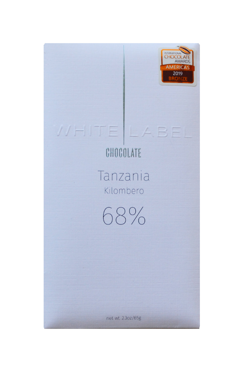 White Label Dark Chocolate Tanzania