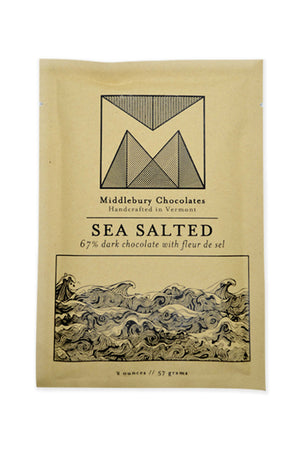 Middlebury Dark Chocolate - Sea Salt