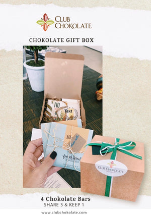 Dark chocolate sharing GIFT set