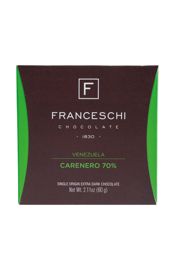 franceschi dark chocolate carenero