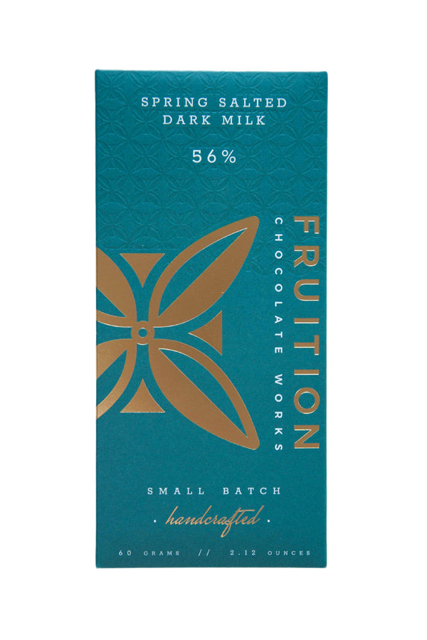 Fruition dark chocolate dark milk salt