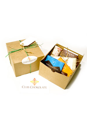 Venezuelan Cacao Dark Chocolate Holiday Gift Set