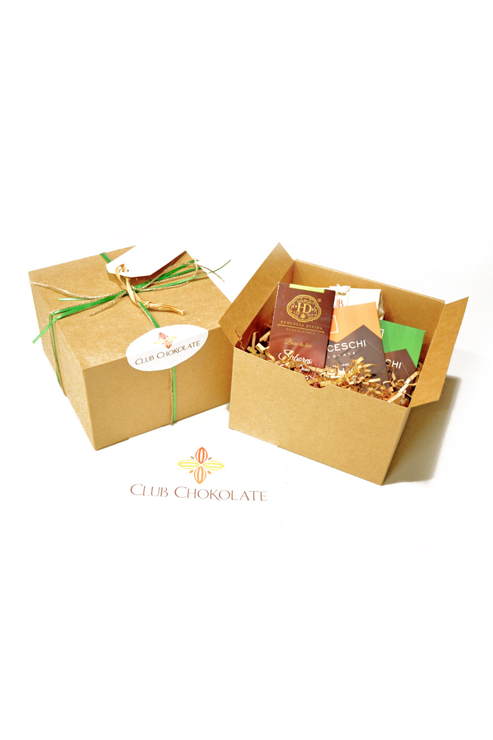 Venezuelan Dark Chocolate Holiday Gift Set A