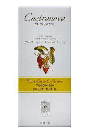 Castronovo Dark Chocolate - Sierra Nevada, Colombia - Rare Cacao Collection