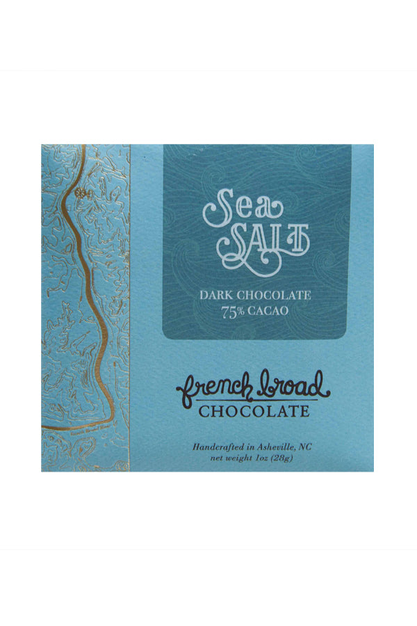 French Broad Dark Chocolate - Sea Salt