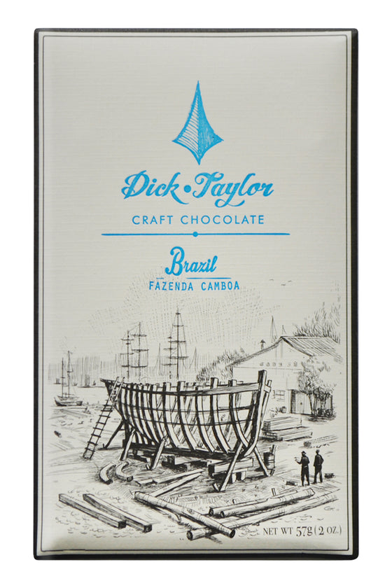 Dick Taylor Dark Chocolate - Brazil Fazenda Camboa