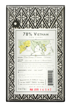 Dick Taylor Dark Chocolate - Vietnam Tiên Giang - Limited Release back