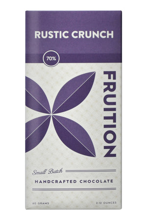 Fruition Dark Chocolate - Rustic Crunch