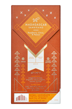 Ritual Dark Chocolate - Madagascar back