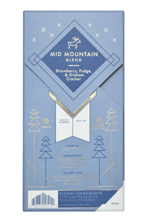 Ritual Dark Chocolate - Mid Mountain Blend back