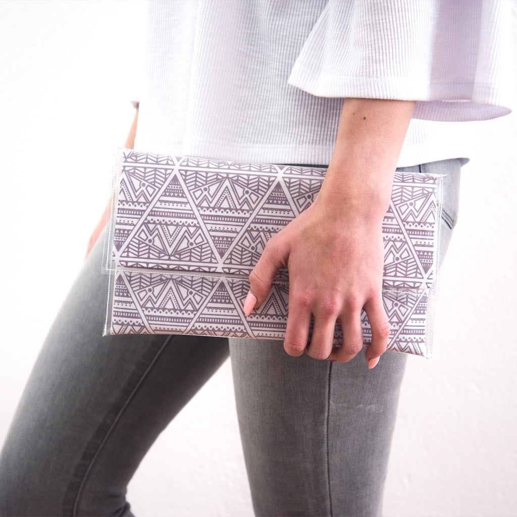 Stone Triangle Clutch