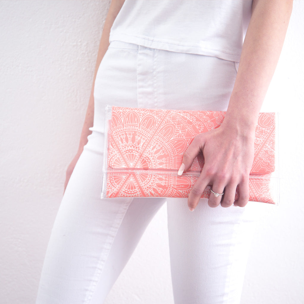 Pink Diamond Clutch