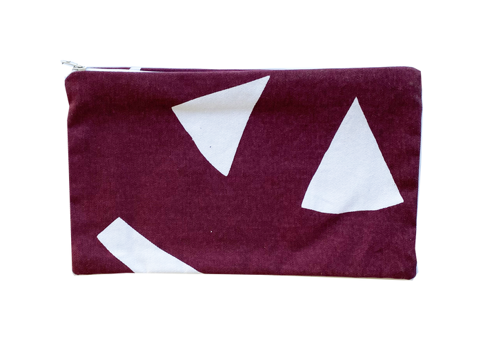 Rectangle Purse - Maroon