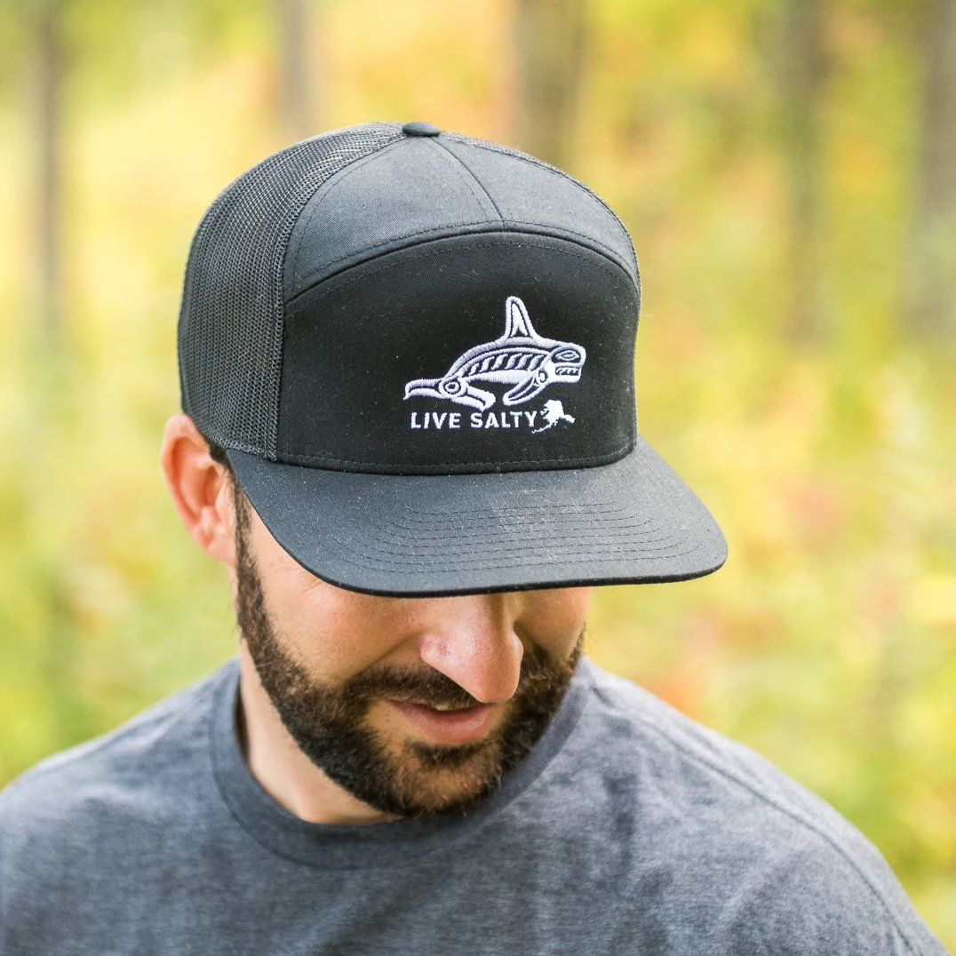 LiveSalty 7 panel snapback