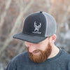 HuntAK Blacktail Deer Hat - Black