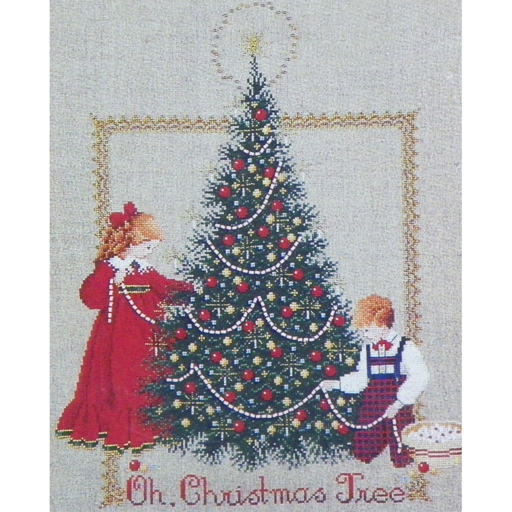 Oh Christmas Tree.Oh Christmas Tree Counted Cross Stitch Leaflet Lavender Lace