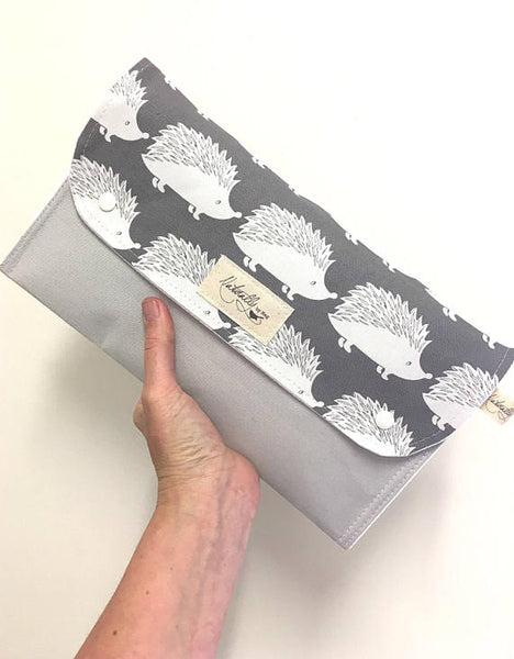 Hedgehog Nappy Wallet