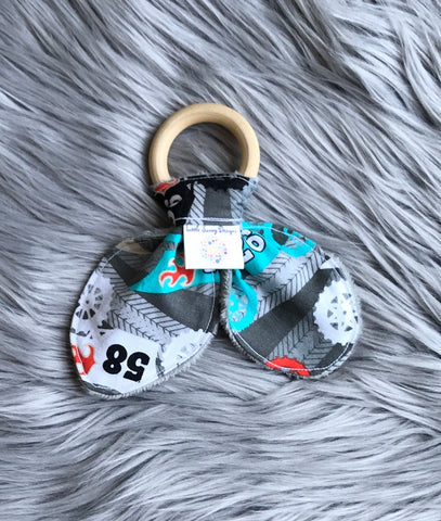 Bunny Ear Teether. Motorcross