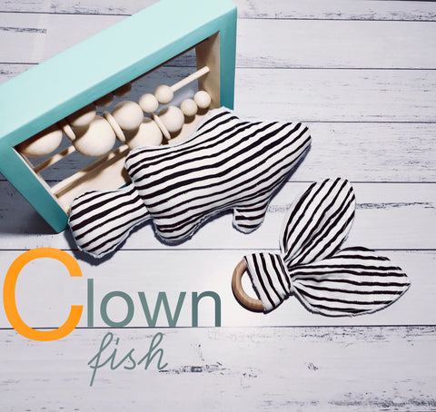 Clown Fish Rattle