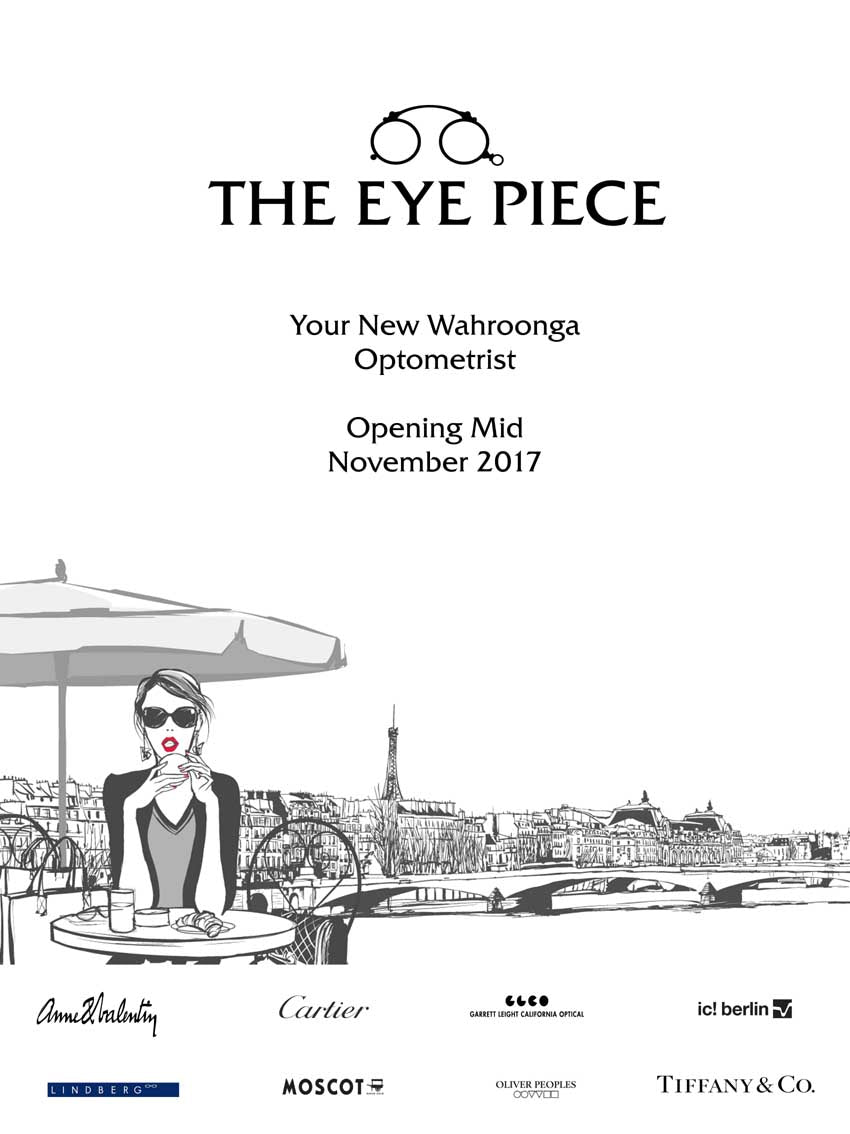 The Eye Piece Wahroonga - Closing for Renovation