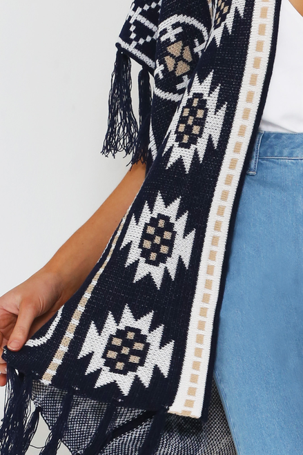 Indiana Poncho - Sanchaya Designs