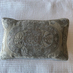 Evie Applique Linen Cushion