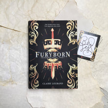 Furyborn with signed bookplate