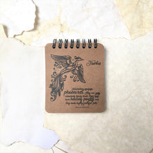 Fawkes the Phoenix - Spiral Notepad BOGO