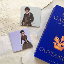 Outlander Coaster Set - Jaime and Claire