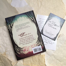 The Bone Charmer with signed bookplate + author note