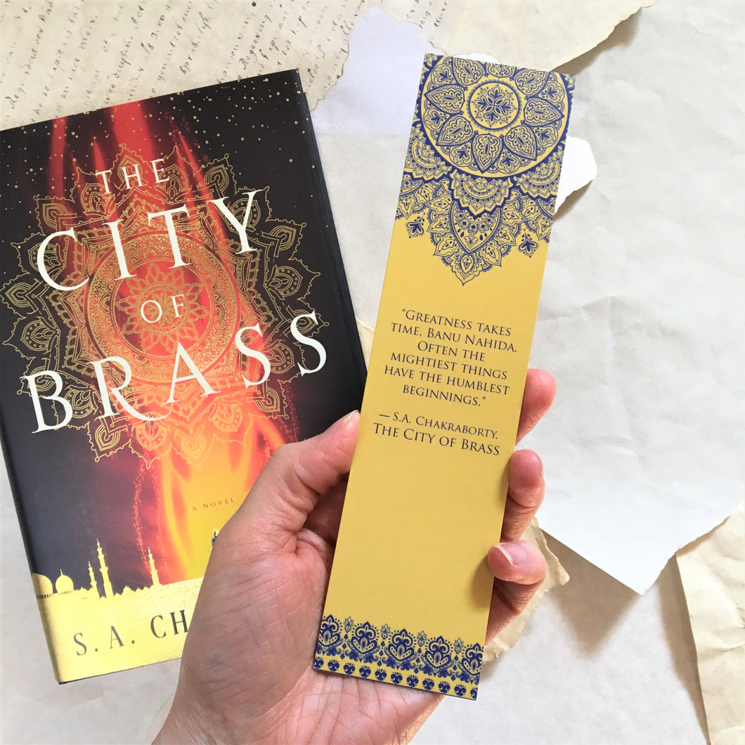 City of Brass Quote Bookmark