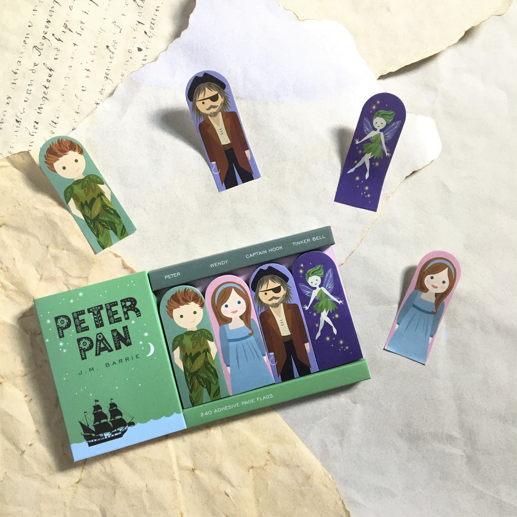 Peter Pan Page Flags