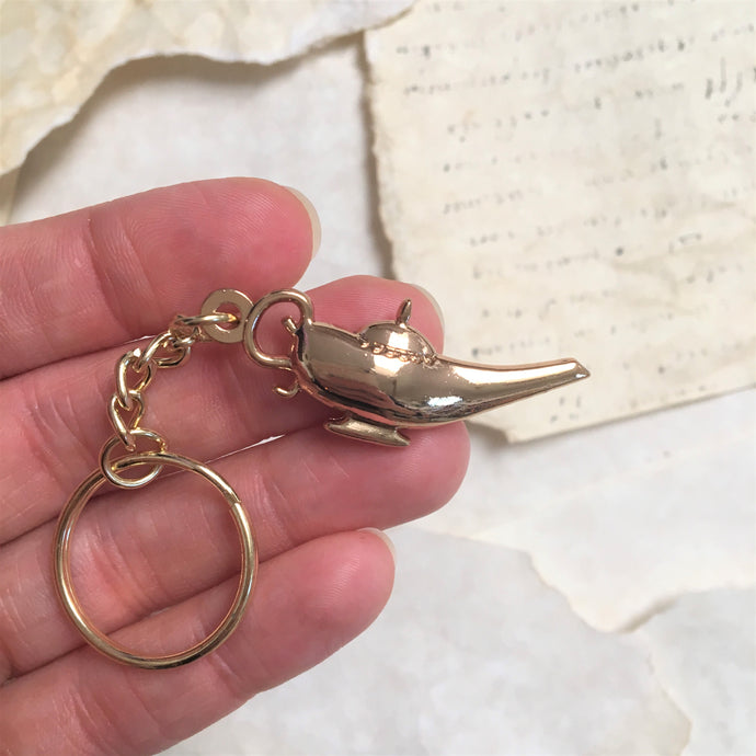 3 Wishes - Genie's Lamp Key Chain