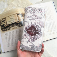 Marauders Map Wallet