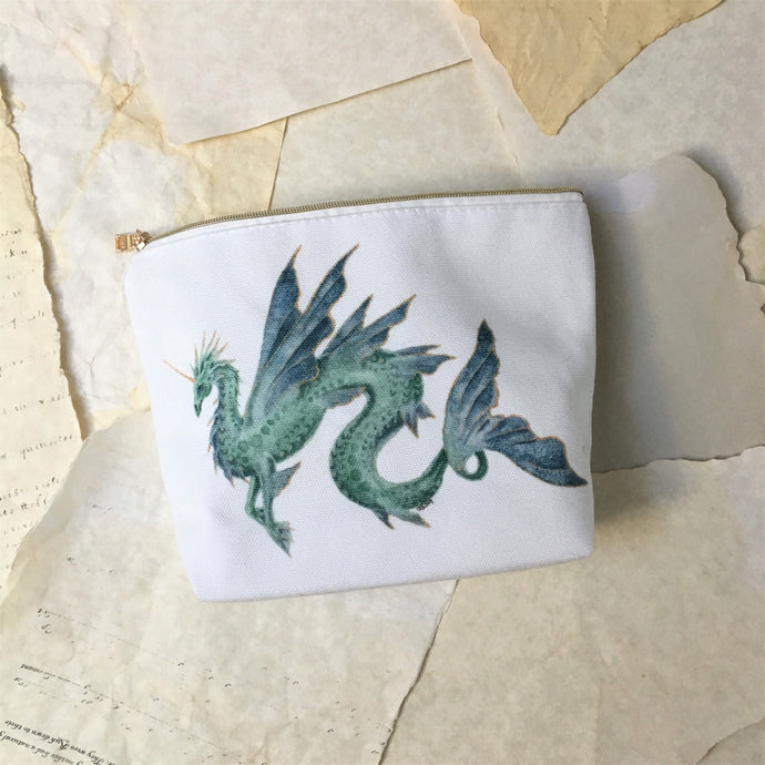Sea Dragon Zipper Pouch