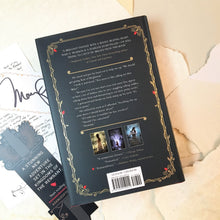 Dance of Thieves with signed bookplate, note from author, and bookmark